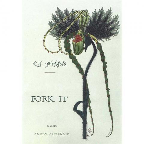 illustration of fleur du mal as cover for Fork it