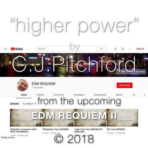 """Icon for song """"Higher Power"""" by C.J. Pitchford from EDM REQUIEM II"""