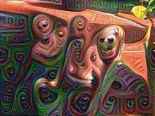 Late stage neural vision generator