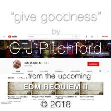 "Image showing YouTube interface used as background for song titled ""Give Goodness"""