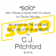 """solo"" by C.J. Pitchford and other text"